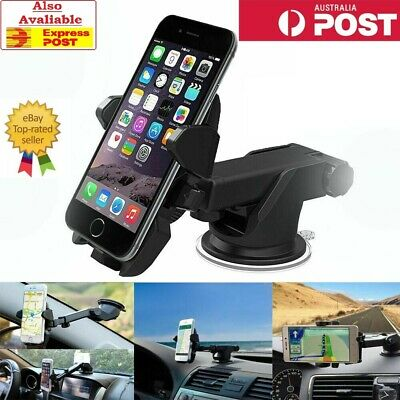 360° Rotatable In Car Suction Phone Holder Dashboard Windscreen Universal AUS!!