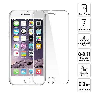 Screen Protector for Apple iPhone 11 X 8 7 Plus SE Genuine 100% Tempered Glass