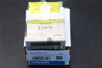NEW OMRON Counter H7ET-N1 1PCS