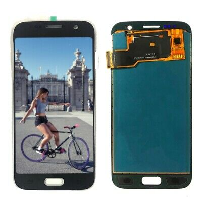 Black LCD Screen and Digitizer Assembly TFT Version For Samsung Galaxy S7 G930 F