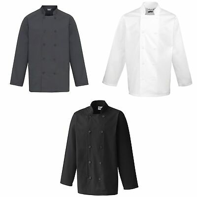 Premier Unisex Chefs Jacket (Pack of 2) (RW6835)