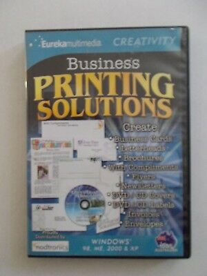 - Business Printing Solutions [Pc Dvd-Rom] Brand New [Eureka] Oz Seller