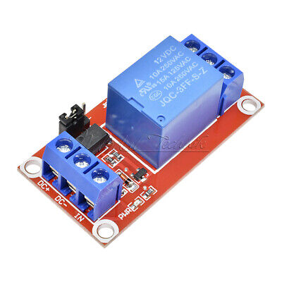 12V 1 Channel 1CH Relay Module H/L Level Trigger With SMD Optocoupler Isolation