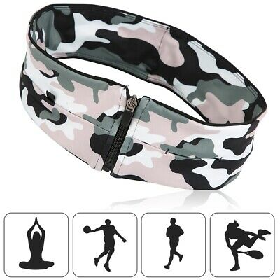 Outdoor Multi-function Sports Waistband Running Belt Fitness Headband Quick Dry