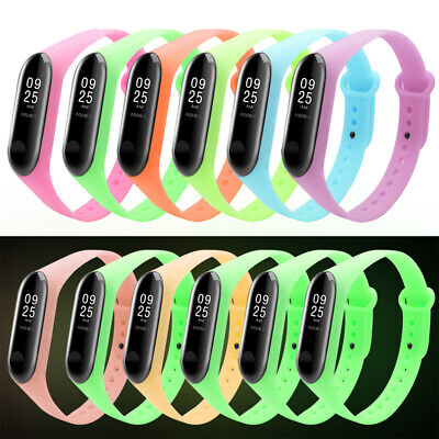 For Xiaomi MI Band 3 Strap Replacement Bracelet Luminous Wristband Watch Band
