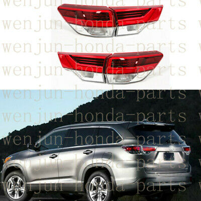 Tail Brake Light Assy LED Upgrade 2018 Style Refit For Toyota Highlander 2014-16