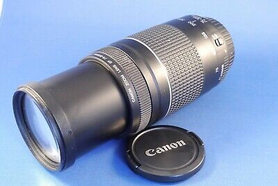 Canon EF ,EOS , 75 - 300mm , F4 - 5.6, EF 111  lens for film and Digital SLR'S