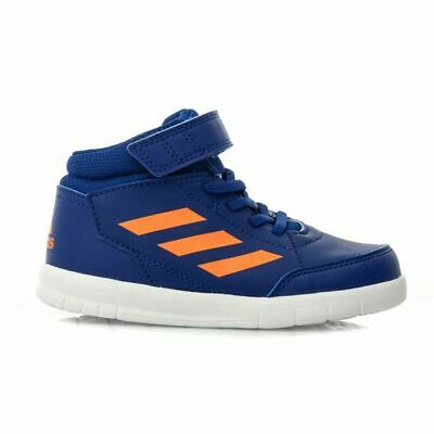 Adidas Kids Infant Boys Shoes Altasport Performance Mid Trainers G27127 Blue