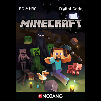 Minecraft Java Edition PC MAC License Code Download Schlüssel Vollversion Mojang