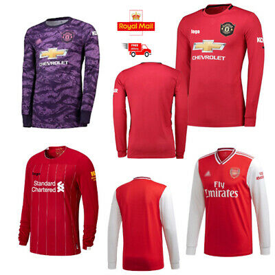 2019/20 Season Men's Football Long Shirt Home Away Shirt Top Brand New With Tags