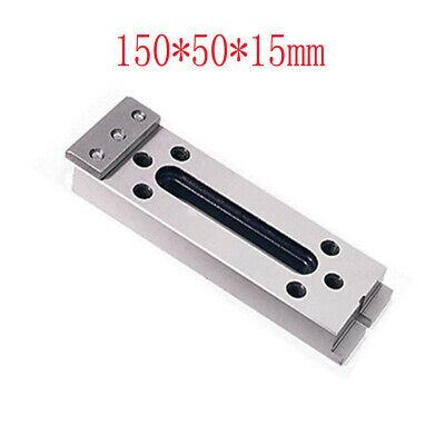 CNC Wire Cuting EDM Machine Stainless Jig Holder For Clamp 150*50*15mm M8 Thread