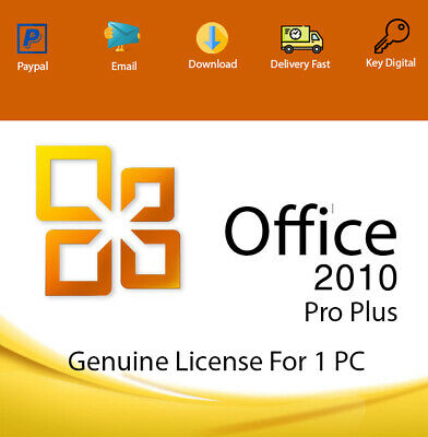Office 2010 Professional Plus Key Download 32-64 Bit Genuine