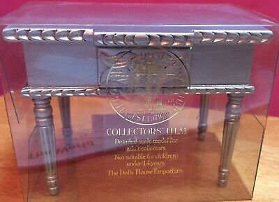 DOLLS HOUSE EMPORIUM SILVER CONSOLE TABLE - brand New in Box - 4195