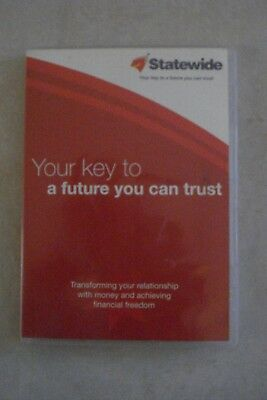 + FINANCIAL SECURITY [SUPERANNUATION] DISC & BOOK [By STATEWIDE] OZ SELLER