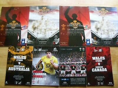Wales Rugby Internationals X 8