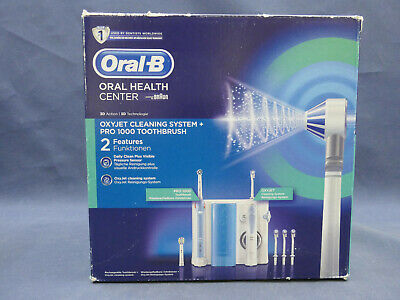Oral-B Oral Health Center Oxyjet Cleaning System + PRO 1000 Toothbrush
