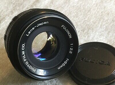 FUJI FUJINON 55mm 1:2.2 PRIME LENS with M42 SCREW THREAD MOUNT