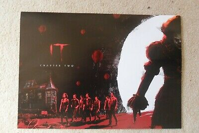 Official IT Chapter Two  Poster A4 1 Of 2 Film Stephen King 2019