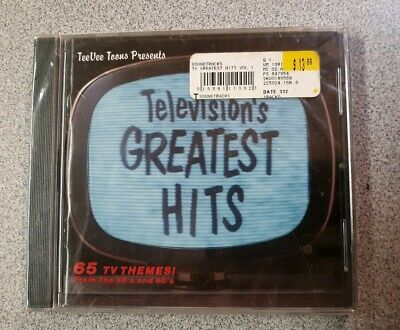 Television's Greatest Hits, Vol. 1: From 50S And 60S - V/A - Cd - New
