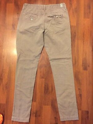 Womens Size 4 Medium Levis Gray Pants Straight Skinny Very Good