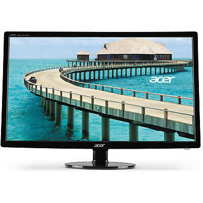 "Acer 24"" Widescreen LCD Monitor Display Full HD 1920 x 1080 5 ms