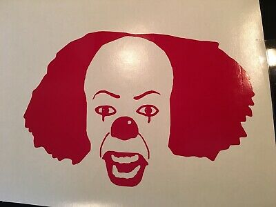Stephen King's IT Pennywise Sticker Vinyl Decal
