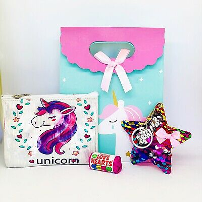 Unicorn Girls Pre Filled Party Bags/ Unicorn Party Goodie Bags
