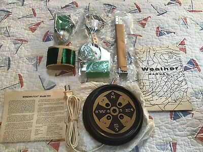 Vintage WINDWATCH MODEL OH Wind Monitor Sensor Wind-Direction Anemometer