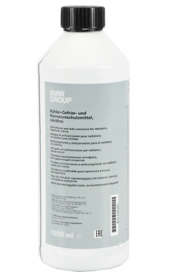 Genuine BMW Engine Coolant Antifreeze G48 Blue Concentrate 1.5 ltr 83512355290