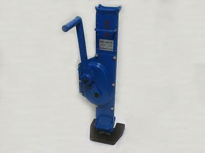 5 Ton Rack & Pinion Jack - 5T 5000KG Mechanical Lifting Manual Fixed Claw Tonne