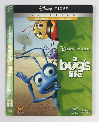 A Bug's Life *Slipcover ONLY* for DVD+BLURAY DISNEY PIXAR