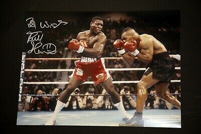 Frank Bruno Hand Signed Boxing 12x16 Photograph : A