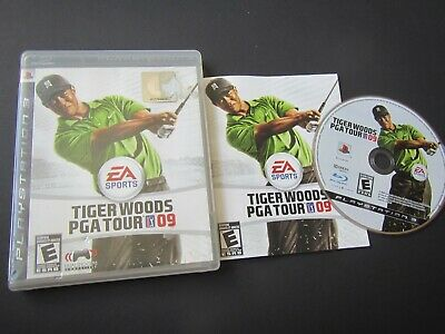 Sony Playstation 3 PS3: Tiger Woods PGA Tour 09 complete in case and tested