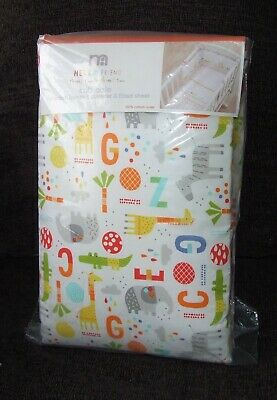 Bnip Mothercare Crib Bale Bedding Set Hello Friends Bumper Coverlet Fitted Sheet