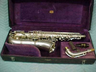 Antique  CONN C Melody Saxophone, Professionally Restored, Great!