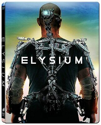 Elysium Limited Edition Steelbook (Blu-ray + DVD) [Blu-ray]