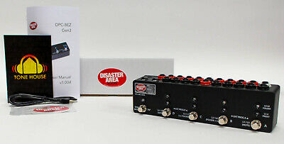 Disaster Area Designs DPC-8EZ Gen3 Programmable Bypass Switcher with MIDI - New