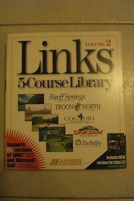 - Links 5 Course Library [Volumes 2 And 4] 2 Pc Cd-Rom's [As New] Win/Mac