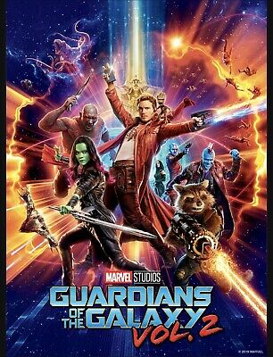 Topps Marvel Collect DIGITAL Movie Poster - Guardians Of The Galaxy Vol. 2