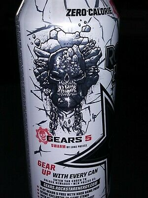 Gears of war 5 EXCLUSIVE ROCKSTAR can #6 of 6 CODE ONLY