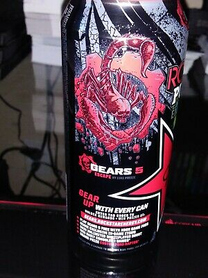 Gears of war 5 EXCLUSIVE ROCKSTAR can #5 ( CODE ONLY)