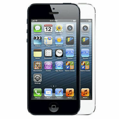 Apple iPhone 5 16GB 32GB 64GB - Factory Unlocked AT&T T-Mobile Sprint Verizon