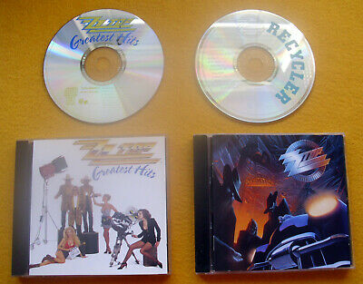 "ZZ Top - Sammlung 2 x "" Greatest Hits / Best Of + Recycler "" 28 Songs / sehr gut"