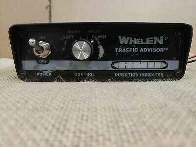 Whelen Traffic Advisor Control Panel NO EXTRA WIRES OR CONNECTORS