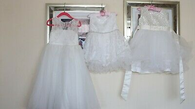 photography props 3 little girls dresses ideal for photography