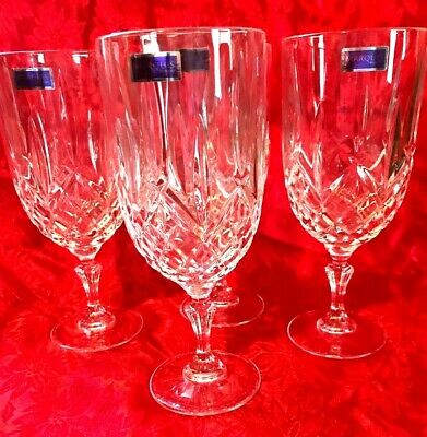 Marquis By Waterford Markham Iced Beverage/wine Glasses Set Of 4 17 oz.