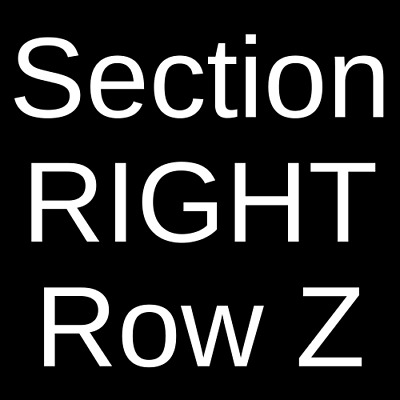 4 Tickets George Thorogood and The Destroyers 10/5/19 Peachtree City, GA