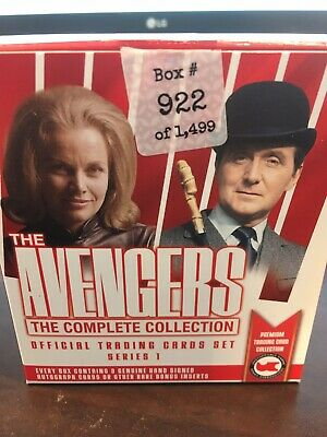 The Avengers The Complete Collection Base Set And Box Unstoppable 2019