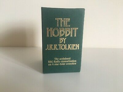 Limited Edition The Hobbit By J.R.R Tolkien BBC Audio Book Cassette Tapes 1988