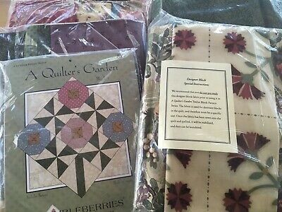 "Thimbleberries ""A Quilters Garden"" Quilt Kit NEW/SEALED/ BACKING INCLUDED!"